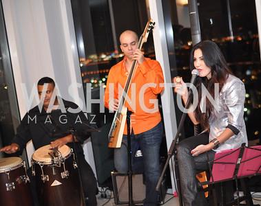 Bikini Jazz, Hilda and Arturo Brillembourg host a cocktail reception to kick off Art Basel Miami. Wednesday, December 5, 2012. Photo by Ben Droz.