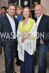 Marcos Galvany, Nuria Malie Robles, Jose Solis Betancourt, Hilda and Arturo Brillembourg host a cocktail reception to kick off Art Basel Miami. Wednesday, December 5, 2012. Photo by Ben Droz.