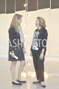 Isabel Ernst, Rosa de la Cruz, Art Basel, Miami, de la Cruz Collection, Photo by Ben Droz.
