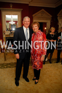 Richard Myers,Mary Jo Myers, February 24,2012,Aschiana Gala at the Residence of the Ambassador of the Netherlands,Kyle Samperton