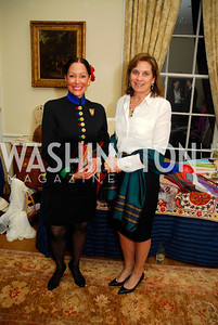 Barbara  Wilson,Annie McChrystal,,February 24,2012,Aschiana Gala at the Residence of the Ambassador of the Netherlands,Kyle Samperton