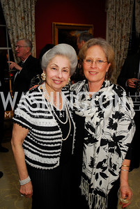 Gamila Karjawally,Donna Fava, February 24,2012,Aschiana Gala at the Residence of the Ambassador of the Netherlands,Kyle  Samperton