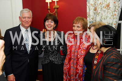 Richard Myers,Ambassador Renee Jones-Bos, Mary  Jo Myers,Patricia Silverman,Sultana Hakimi,  Richard Myers,Ambassador Renee Jones _Bos,Mary Jo Myers,Patricia Silberman,Sultana Hakimi,February 24,2012,Aschiana Gala at the Residence of the Ambassador of the Netherlands,Kyle  Samperton