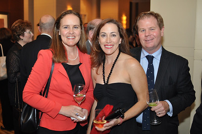 Michele Flournoy, Jeanine Davidson, David Kilcullen, Asia Society Awards Dinner, at the Mandarin Oriental, Tuesday, June 19th, 2012.  Photo by Ben Droz