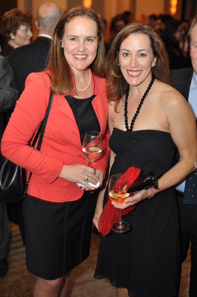 Michele Flournoy, Jeanine Davidson,  Asia Society Awards Dinner, at the Mandarin Oriental, Tuesday, June 19th, 2012.  Photo by Ben Droz
