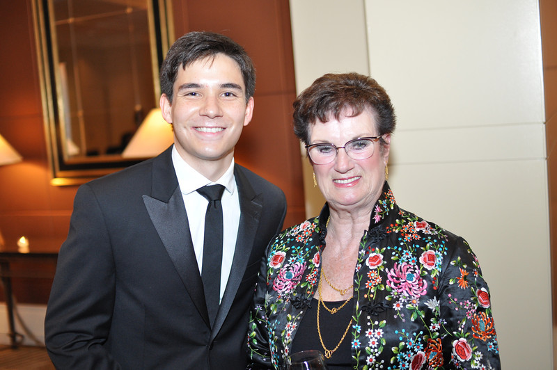 Sean Lowry, Elizabeth Wilson,  Asia Society Awards Dinner, at the Mandarin Oriental, Tuesday, June 19th, 2012.  Photo by Ben Droz