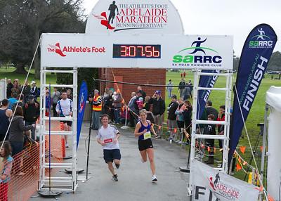 1/2 Marathon Finish Photos<100Min