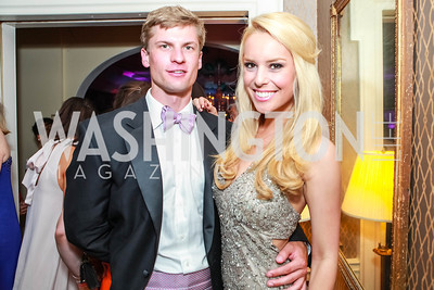 Britt McHenry. Bachelors & Spinsters Ball. City Tavern Club. April 21, 2012. Photo by Alfredo Flores