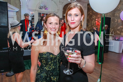 Gina Ruebensaal, Alison Massagli. Bachelors & Spinsters Ball. City Tavern Club. April 21, 2012. Photo by Alfredo Flores