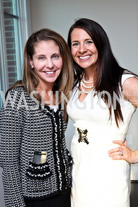 Allison O'Connor, Jessie Hrivnak. Beasley 100 Reception. Photo by Tony Powell. 2501 Penn penthouse. September 13, 2012