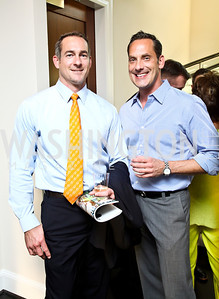 Mark Scott, Kyle Schubert. Beasley 100 Reception. Photo by Tony Powell. 2501 Penn penthouse. September 13, 2012