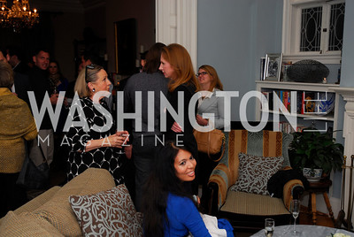 Louise Schwehel, Juleanna Glover, Christina Sevilla, February 8, 2012, Beasley Real Estate Launch Party, Kyle Samperton