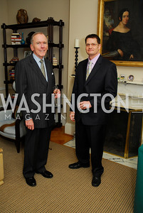 Bill Sawyer, Ross Vann, February 8, 2012, Beasley Real Estate Launch Party, Kyle Samperton
