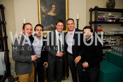 Gregory Schneiper, Ervin Luis Hechavarria, Trent Heminger, Greg Busch, Steve Long, February 8, 2012, Beasley Real Estate Launch Party, Kyle Samperton