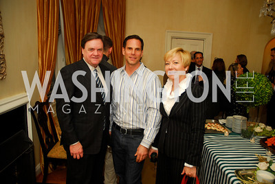 Jay Killeen, Michael Minnemann, Anne Killeen, February 8, 2012, Beasley Real Estate Launch Party, Kyle Samperton