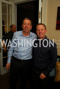 Rich Gottwald, Jim Harden, February 8, 2012, Beasley Real Estate Launch Party, Kyle Samperton