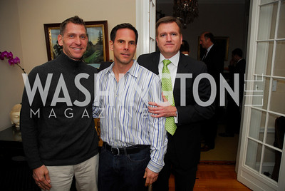 Richard Berstein, Michael Minnemann, Jim Bell, February 8, 2012, Beasley Real Estate Launch Party, Kyle Samperton