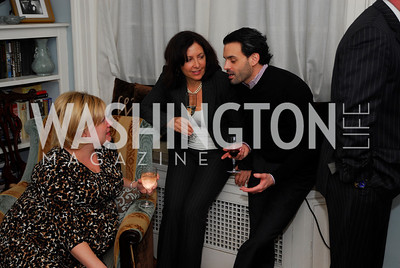 Nedra Pickler, Joyce Tarantino, Steve Long, February 8, 2012, Beasley Real Estate Launch Party, Kyle Samperton