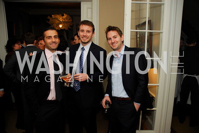 David Klimas, Will Smith, Mark Wellborn, February 8, 2012, Beasley Real Estate Launch Party, Kyle Samperton