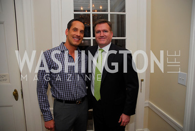 Kyle Sch, Jim Bell, February 8, 2012, Beasley Real Estate Launch Party, Kyle Samperton