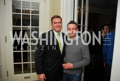 Jim Bell, Jordan Rosenstadt,  February 8, 2012, Beasley Real Estate Launch Party, Kyle Samperton