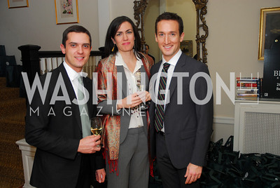 Eric Tomilson, D'Ana Long, Kevin Gray, February 8, 2012, Beasley Real Estate Launch Party, Kyle Samperton