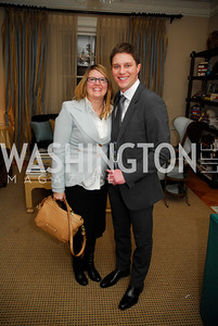 Valerie Cline, Trent Heminger, February 8, 2012, Beasley Real Estate Launch Party, Kyle Samperton