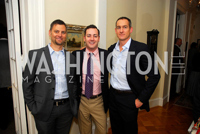 Steve Bibus, Shawn Breck, Mark Scott,  February 8, 2012, Beasley Real Estate Launch Party, Kyle Samperton