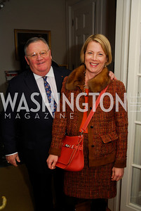Joe Santarlasci, Betsy Santarlasci, February 8, 2012, Beasley Real Estate Launch Party, Kyle Samperton