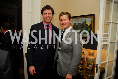 Jeff Wilson, Dan Heder, February 8, 2012, Beasley Real Estate Launch Party, Kyle Samperton