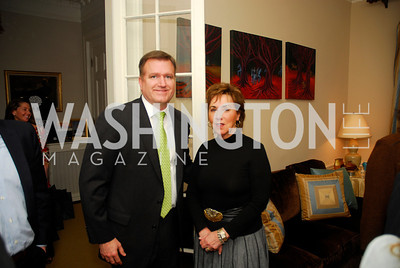 Jim Bell, Sheila Mooney, February 8, 2012, Beasley Real Estate Launch Party, Kyle Samperton