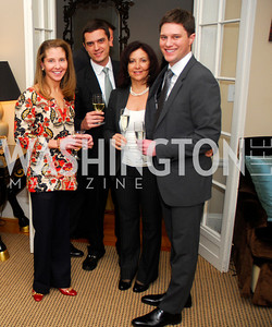 Allison O'Connor, Eric Tomilson, Joyce Tarantino, Trent Heminger, February 8, 2012, Beasley Real Estate Launch Party, Kyle Samperton