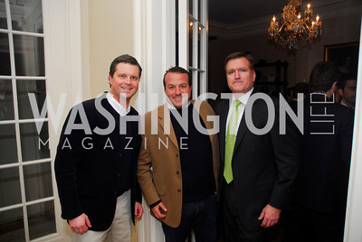 Luke Joyce, Eric Hirshfield, Jim Bell, February 8, 2012, Beasley Real Estate Launch Party, Kyle Samperton