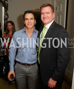 Brook Rose, Jim Bell, February 8, 2012, Beasley Real Estate Launch Party, Kyle Samperton