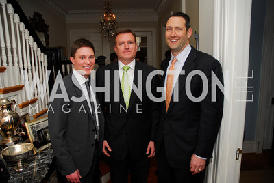 Trent Heminger, Jim Bell, Dave Pollin, February 8, 2012, Beasley Real Estate Launch Party, Kyle Samperton