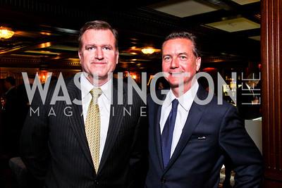 Jim Bell, Martin Gammon. Beasley and Bonhams Reception. Georgetown Club. March 5, 2012. Photo by Tony Powell