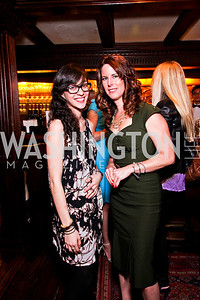 Ashlyn Michalakis, Katy O'Mara. Beasley and Bonhams Reception. Georgetown Club. March 5, 2012. Photo by Tony Powell