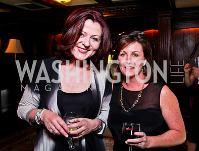 Susan Fagan, Mary Donatelli. Beasley and Bonhams Reception. Georgetown Club. March 5, 2012. Photo by Tony Powell