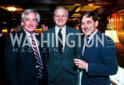 Robert Higdon, David Deckelbaum, Christian Zapatka. Beasley and Bonhams Reception. Georgetown Club. March 5, 2012. Photo by Tony Powell