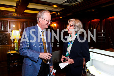 Don Kozusko, Ginny McArthur. Beasley and Bonhams Reception. Georgetown Club. March 5, 2012. Photo by Tony Powell