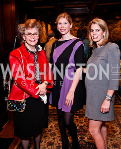 Diane Salisbury, Amy Kuhnert, Lauren Hilyard. Beasley and Bonhams Reception. Georgetown Club. March 5, 2012. Photo by Tony Powell