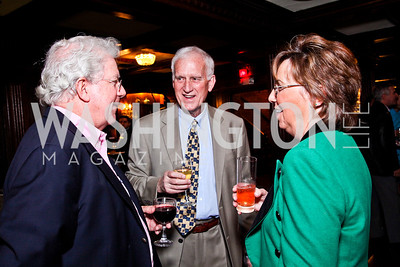 Dan Toomey, John and Sheila Mooney. Beasley and Bonhams Reception. Georgetown Club. March 5, 2012. Photo by Tony Powell