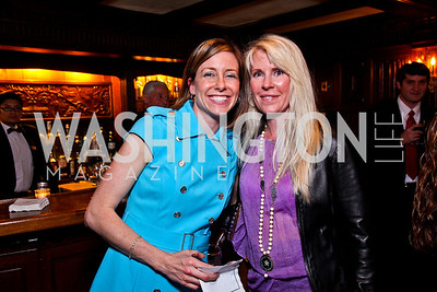 Jonnie Jamison, Kim Cameron. Beasley and Bonhams Reception. Georgetown Club. March 5, 2012. Photo by Tony Powell