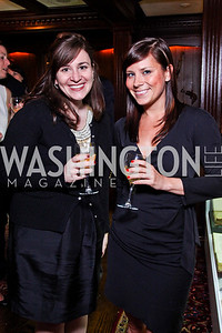 Cara Koss, Dana Foley. Beasley and Bonhams Reception. Georgetown Club. March 5, 2012. Photo by Tony Powell