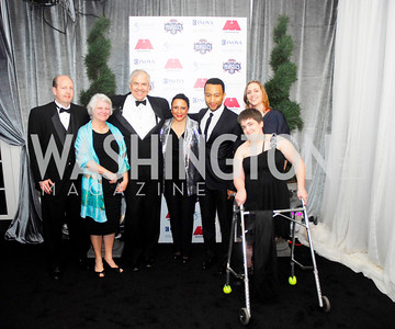 Stuart Engleking,Penny Singleton,Knox Singleton,Sheila Johnson,John Legend,,Leslie Singleton,Leah Singleton,March 31,2012, Benefit for Inova Healthy Generations, held at Salamander Farm,Kyle Samperton