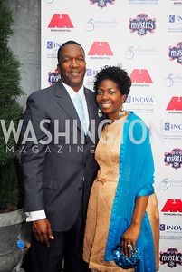 Rod Williams,Dazzerine Williams,,March 31,2012, Benefit for Inova Healthy Generations, held at Salamander Farm,Kyle Samperton