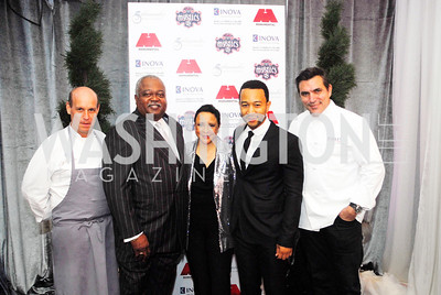 Todd Gray,William Newman,Sheila Johnson,John Legend,Todd English,March 31,2012, Benefit for Inova Healthy Generations held at Salamander Farm,Kyle Samperton
