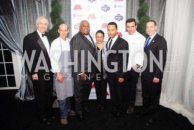 Knox Singleton,Todd Gray,William Newman,Sheila Johnson,John Legend,Todd English,Greg Bibb,March 31,2012, Benefit for Inova Healthy Generations, held at Salamander Farm,Kyle Samperton