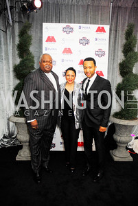William Newman,Sheila Johnson,John Legend,March 31,2012, Benefit for Inova Healthy Generations held at  Salamander Farm,Kyle Samperton