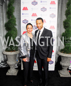 Sheila Johnson,John Legend,March 31,2012, Benefit for Inova Healthy Generations, held at Salamander Farm,Kyle Samperton